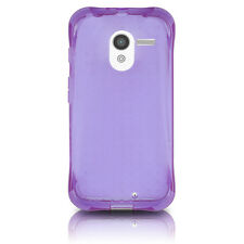 AGF Ballistic LS Jewel Gel Case for MOTO X Purple Translucent Cover OEM