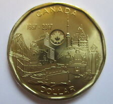 2017 CANADA $1 1867-2017 150TH ANNIVERSARY OF CANADA PROOF-LIKE COIN