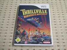 THRILLVILLE pazze sulle montagne russe per Nintendo Wii e Wii U * OVP *