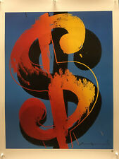Andy Warhol - $ (1) 1982 - 1998 - Poster