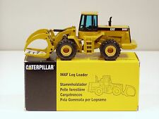 Caterpillar 966F Log Loader - Black Cab - 1/50 - NZG #376 - MIB