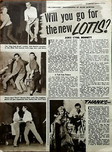 Dennis Lotis, Harmony Close, Will You Go For The New Lotis? Vintage Article 1956