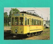 Sammlerkarte, Triebwagen Nr. 67 der HEAG