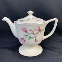 Vintage Homer Laughlin Teapot Cherry or Apple Blossom