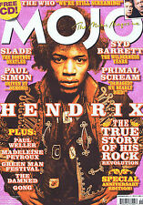 JIMI HENDRIX / SLADE / SYD BARRETT / PAUL SIMON	Mojo	no.	156	Nov	2006