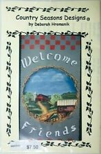 Deborah Hromanik Tole Painting Pattern Packet Country Welcome Sign