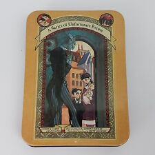 A Series of Unfortunate Events 12 Greeting Cards & Envelopes in Tin