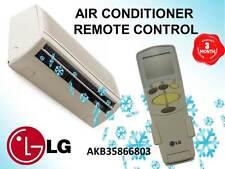 GENUINE LG AIR CONDITIONER REMOTE CONTROL # AKB35866803 6711A90032N AKB74375404
