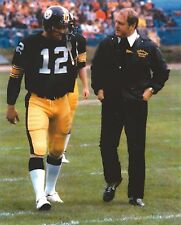 TERRY BRADSHAW & CHUCK NOLL 8X10 PHOTO PITTSBURGH STEELERS PICTURE NFL FOOTBALL