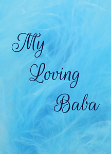 My Loving Baba Greeting Card