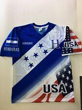 Honduras - USA Blue Soccer Classic Jersey Size Large Men's Only