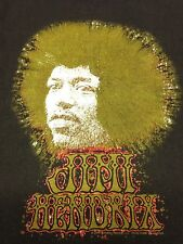 Jimi Hendrix 2XL Brown T-Shirt Rock Music Guitar