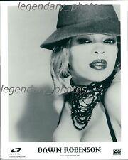 Dawn Robinson Leftside Entertainment Atlantic Records Original Press Photo