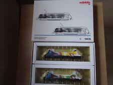 """Märklin HO Art 34618  2 x  E-Lok RE 460 SBB,  """"Schw. Fernseh. Delta  Neuware OVP"""
