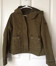 NWT Abercrombie & Fitch Women's Twill Jacket (Size: L)