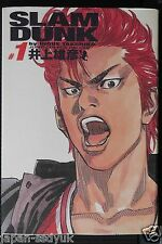 JAPAN Takehiko Inoue manga: Slam Dunk Complete Edition vol.1