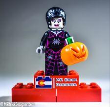 LEGO Spider Lady MINIFIGURE Halloween FIGURE CHARACTER Monster Fighters Elvira