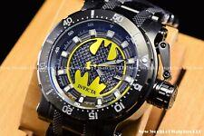 "Invicta 52mm Coalition Forces DC Comics Batman ""bruce Wayne"" Black Auto Le Watch"