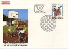 Austria 1981 Conferencia de rehabilitación SG 1895 FDC