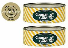 Wsu Creamery Cougar Gold Sharp White Cheddar Cheese Two 30oz Cans