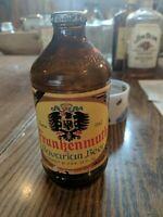 Frankenmuth Bavarian Beer, Vintage Beer Bottle Amber glass 12 ounces.