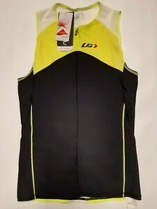 Garneau - COMP Sleeveless Triathlon - Bright Yellow - Mens Size M - Lycra