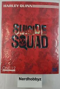 Mezco One:12 Collective Harley Quinn Suicide Squad - NEW In Hand FREE Shipping