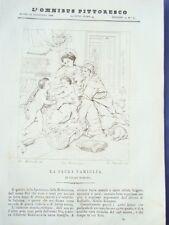 L'OMNIBUS PITTORESCO-NAPOLI 1838-INCISIONI-PONTE SULLA DORA-POMPEI-ALLARD