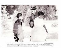 Vintage Michael Keaton & Joseph Cross In Jack Frost 1998 Movie Promo Photo 8x10