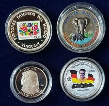 4 Stück Münzen Afrika PP