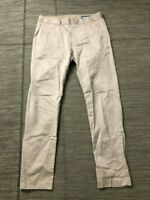 Bonobos Adult Mens 30 x 30 Slim Fit Dress Pants Beige
