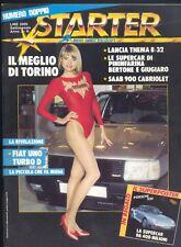 Starter n.19 1986,Patrizia Pellegrino,Porsche 959
