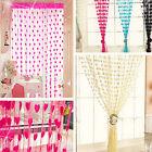 Hot Sale Heart Line String Curtain Tassel Drape For Vestibule Wall Door Window