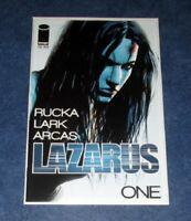 LAZARUS #1 1st print iMAGE COMIC 2013 Greg Rucka Michael Lark NM optioned AMAZON