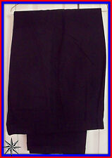 EUC $69 42x32 Nautica Rigger Black Classic Fit Black Dress Casual Cuff Pants