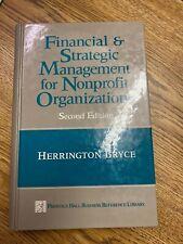 Financial & Strategic Management for Nonprofit Organizations