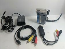Sony Dcr-Ip5 MicroMv Camcorder w/ Usb, Av cable, Tested, Great for transfer