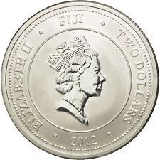 [#34746] Fidji, Elizabeth II, Silver Bullion, 2 Dollars, 2012, Tortue Taku, KM