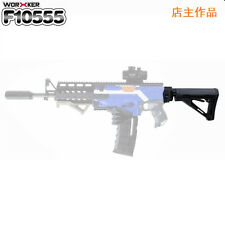 Worker Mod AK custom made Nerf N-strike Elite Toy Color Black Gun tail