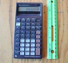Texas Instruments Ba Ii Plus Advanced Business Analyst financial calculator