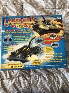 Original MGA Entertainment Remote Control Land Sea 2 RC Car Brown New