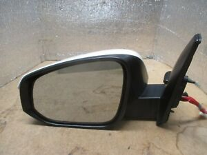 2020-2021 TOYOTA HIGHLANDER DRIVERS/LEFT DOOR OEM POWER MIRROR WITH WHITE COVER