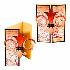 Sizzix Movers Pro A6 Gate Fold Card & Heart #2 magnet insert #656430 MSRP $69.99