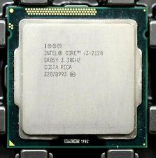 Lot (5) Intel Core i3-2120 2nd Gen (SR05Y) Dual-Core, 3.3GHz, 3MB, LGA1155 CPUs