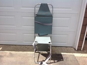 Vintage FERNO Strechercher Converts from. Chair to a Strecher Read Description