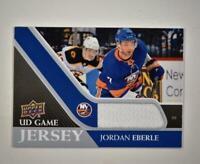 2020-21 UD Series 1 Game Jersey Relic #GJ-EB Jordan Eberle  - New York Islanders
