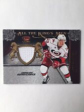 2011-12 Crown Royale Jeff Skinner All The King's Men Jersey Card #39