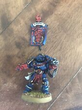Warhammer 40k Space Marines Crimson Fists Army OOP Chapter Master Pedro Kantor !