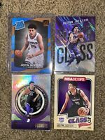 Justin Jackson Rookie Card Lot Of 4. Rated Rookie. Essential. Thunder. UNC. King