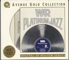 War Platinum Jazz 24 Karat Gold CD Avenue mit Pappumhüllung (with Slipcase)